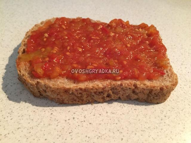 аппетитка на хлебе